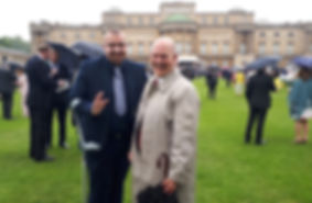 Brain Tumour Support ambassadors attend Royal Garden Party