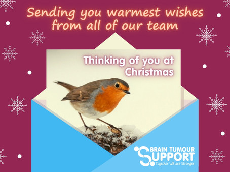 Christmas Wishes from Brain Tumour Support