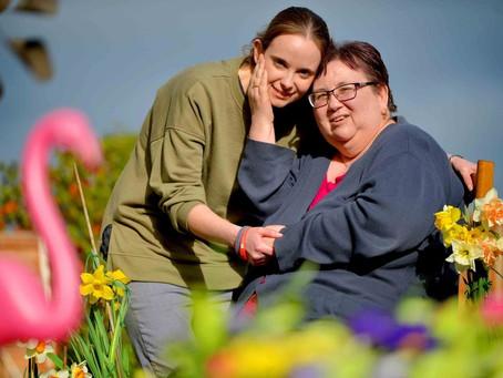 Daughter speaks out over Shropshire mum's brain tumour battle