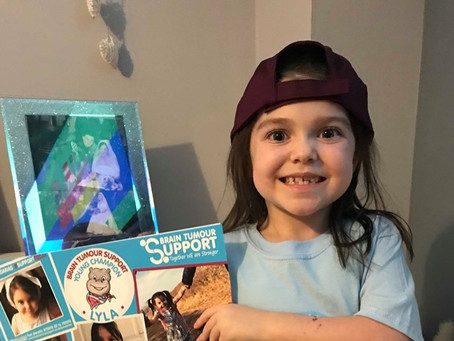 Musicians record single in honour of Brain Tumour Support's Young Champion Lyla