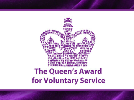 Brain Tumour Support receives the Queen's Award for Voluntary Service