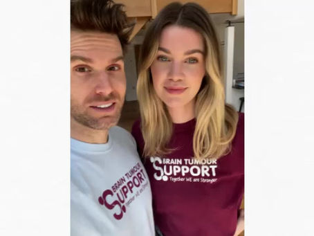 Joel Dommett and Hannah Cooper become charity Ambassadors