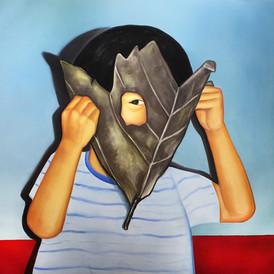 나뭇잎 가면(Leaf mask)