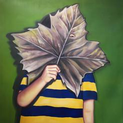 나뭇잎 가면_2(Leaf mask_2)