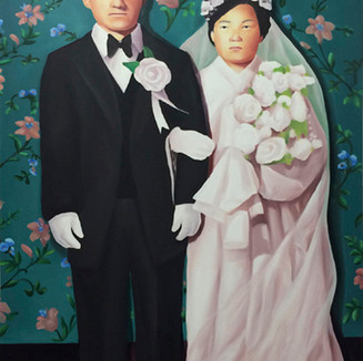 The memory of old couple