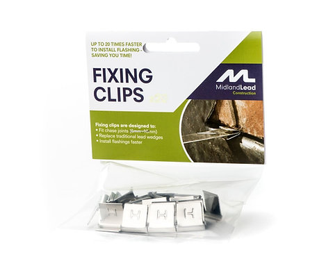 Lead Fixing Clips (x50)