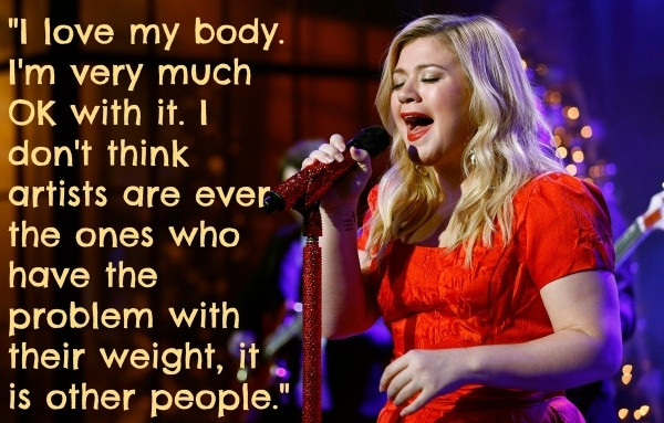 Kelly Clarkson weight body