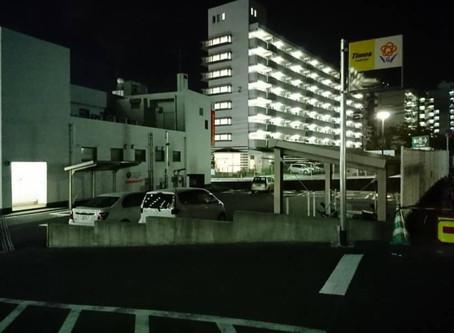 西日本シティ銀行の駐車場