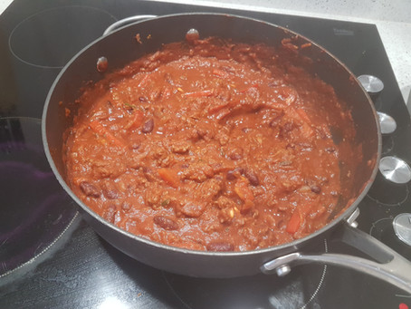 Healthy Bolognese/Chilli for a Hectic Lifestyle
