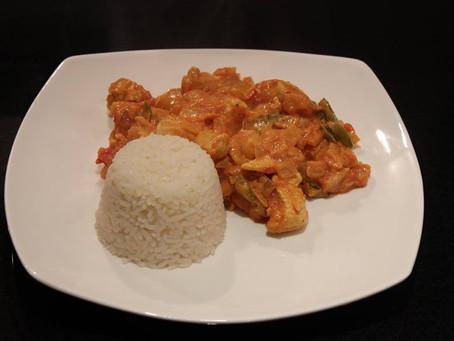 Healthy Curry and Onion Bhajis