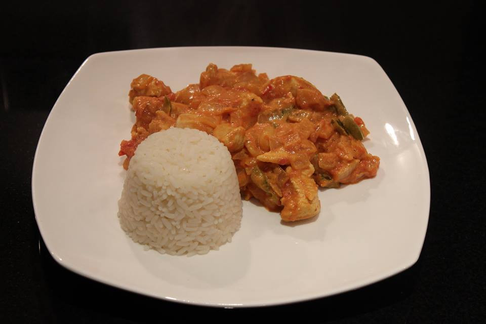 Check out my healthy curry recipe.