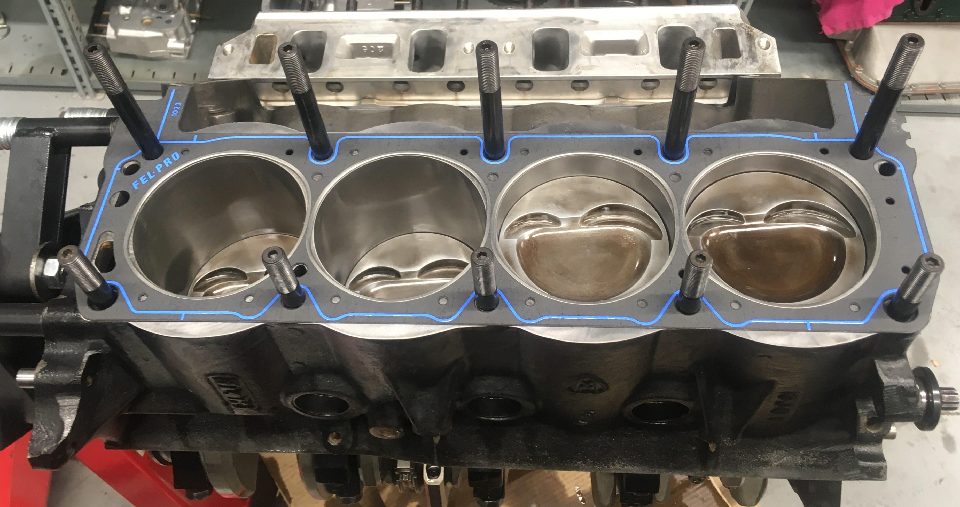 Cobra 350-429 engine rebuild