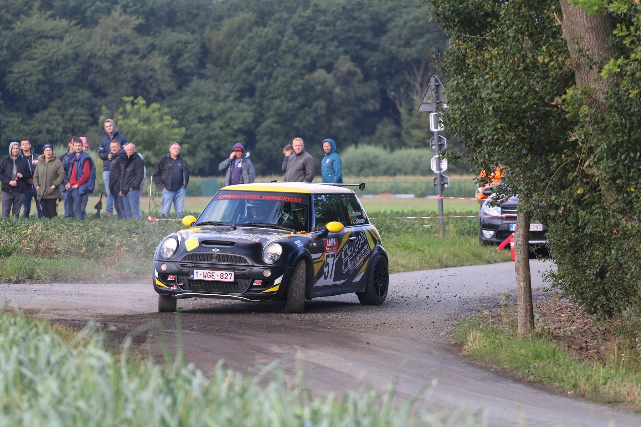 Mini Cooper in action (2)