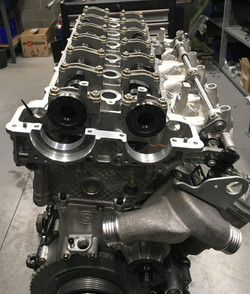 BMW E36 Rally Engine