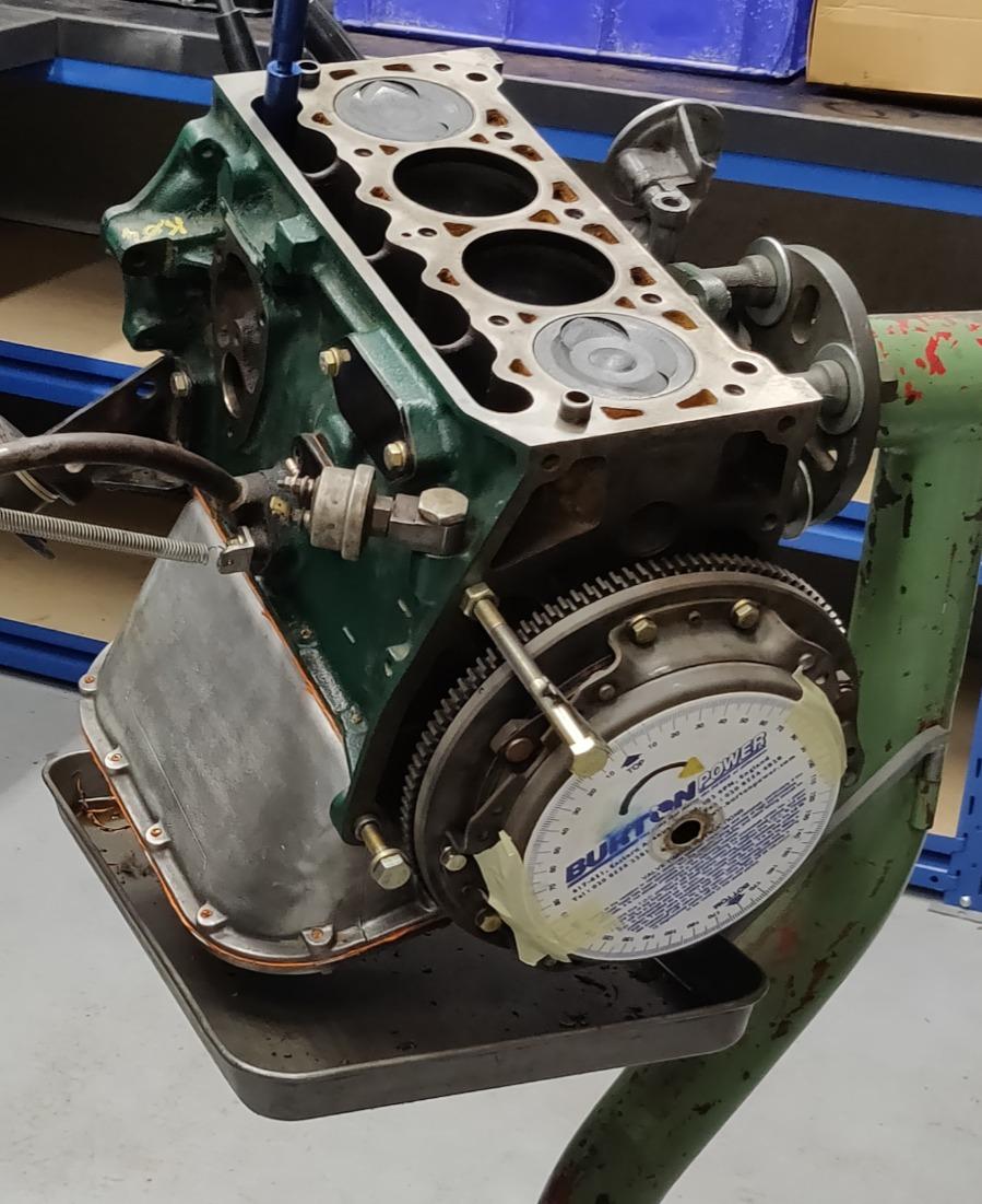 Simca 1000 Engine