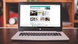 Identidade para website da Agência de Noticias do TJSE
