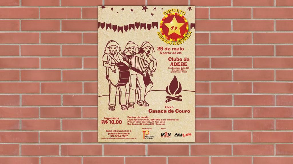 Cartaz para evento cultural (2010)