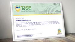 Identidade para projeto educativo da Diretoria de Comunicação do TJSE