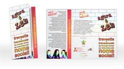 Folder - campanha Agora é Lei (2011)