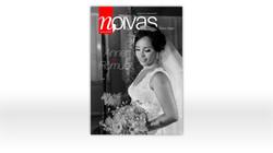 Projeto gráfico e diagramação da revista Noivas (SE)