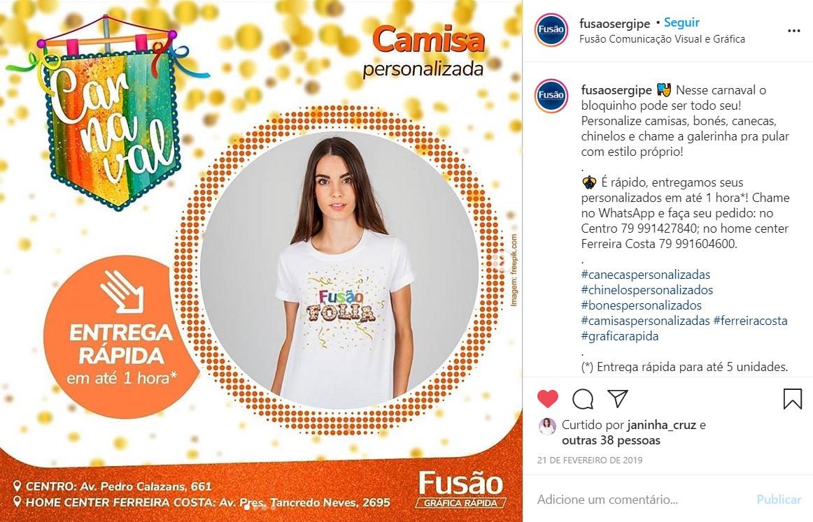 """Criação, produção gráfica e redação para publicações da série """"Carnaval 2019"""""""