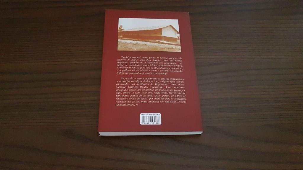 Projeto gráfico e diagramação (quarta capa)