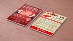 Panfletos de mobilização para ações do Sinasefe (SE)