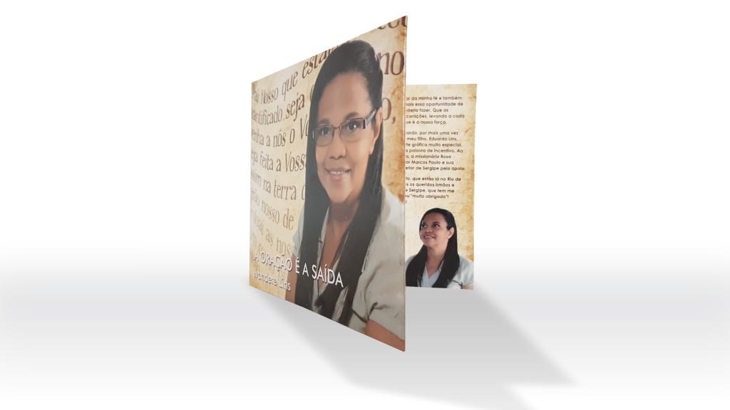 Proj. gráfico - capa de CD produzida na Gráfica e Editora J Andrade (SE, 2011)