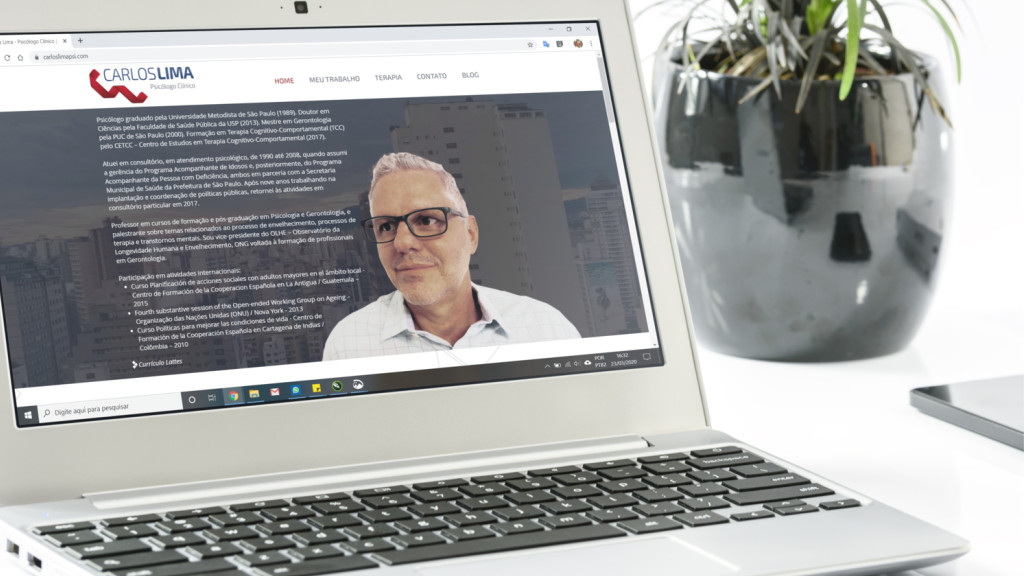 Website para psicólogo