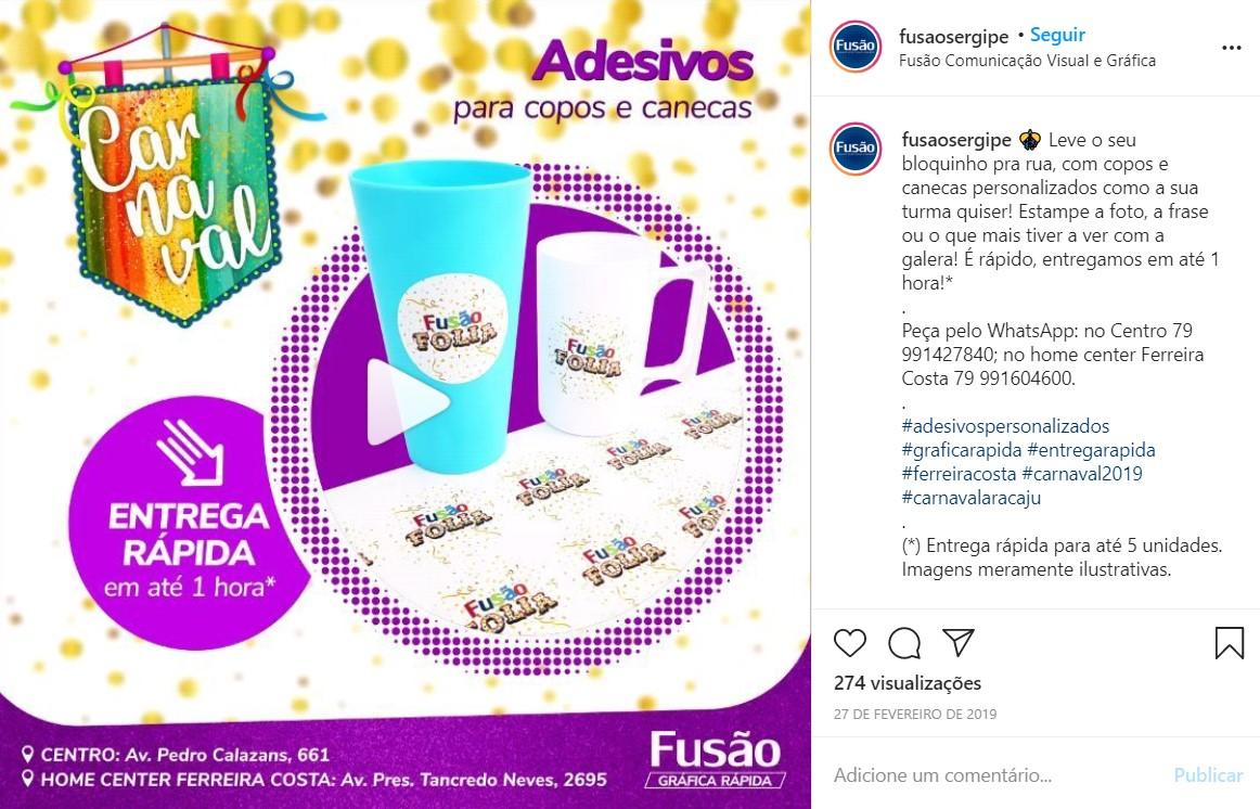 """Edição de vídeo e redação para série de publicações """"Carnaval 2019"""""""