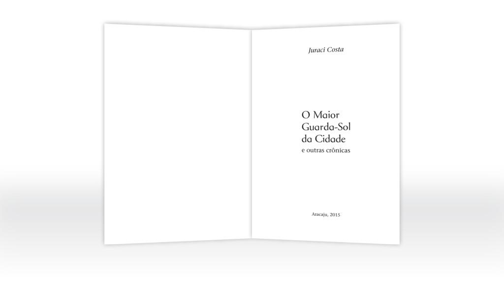 Projeto gráfico e diagramação (páginas internas)