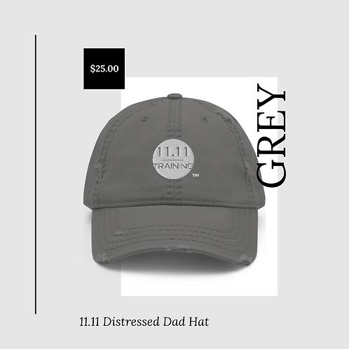 11.11 Distressed Dad Hat