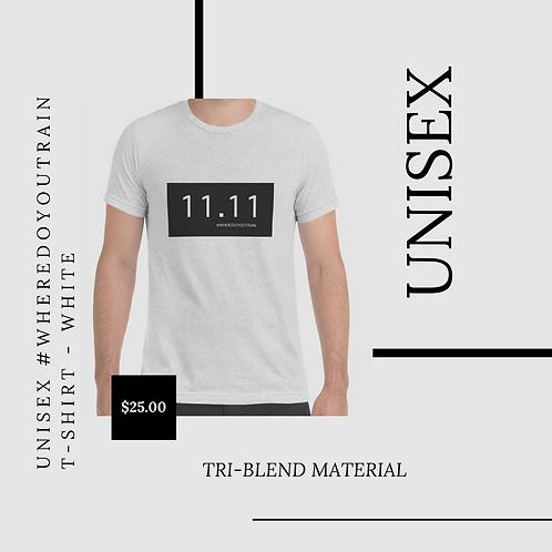 #WDYT Tri-Blend Shirt