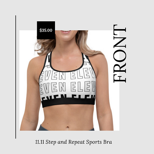 11.11 Step and Repeat Sports Bra