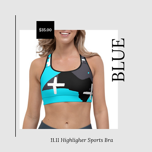 11.11 Highlighter Sports Bra