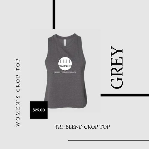Women's Tri-Blend Crop Tank