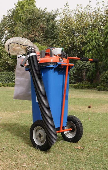 120 Liter Vacuum Litter Collector