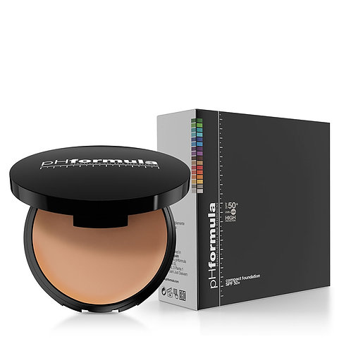 COMPACT FOUNDATION Medium or Light SPF 50+