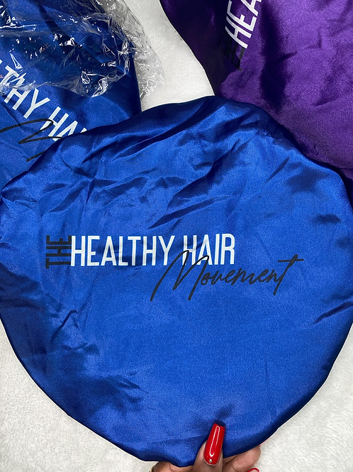 Blue, Healthy Hair Movement Bonnet