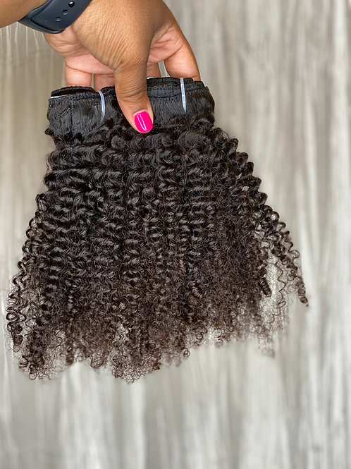 Raw Kinky Curly Clip Ins