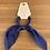 Thumbnail: Pink Pewter blue ribbon