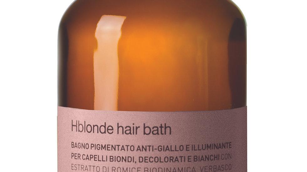 HBlonde Hair Bath