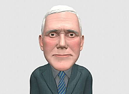 mike-pence-caricature-3d-model-low-poly-
