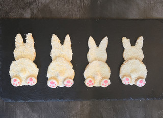 Easter Bunny Biscuits Tutorial
