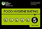 Five str food hygiene rating