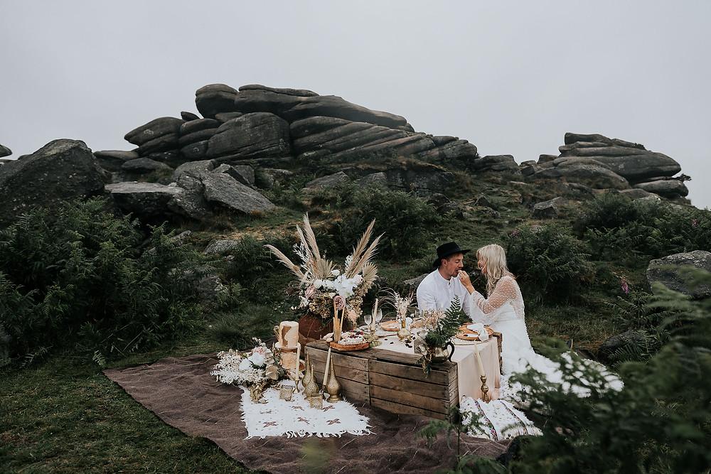 peak district wedding, outdoor wedding