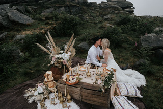 Surprise View Bohemian Elopement