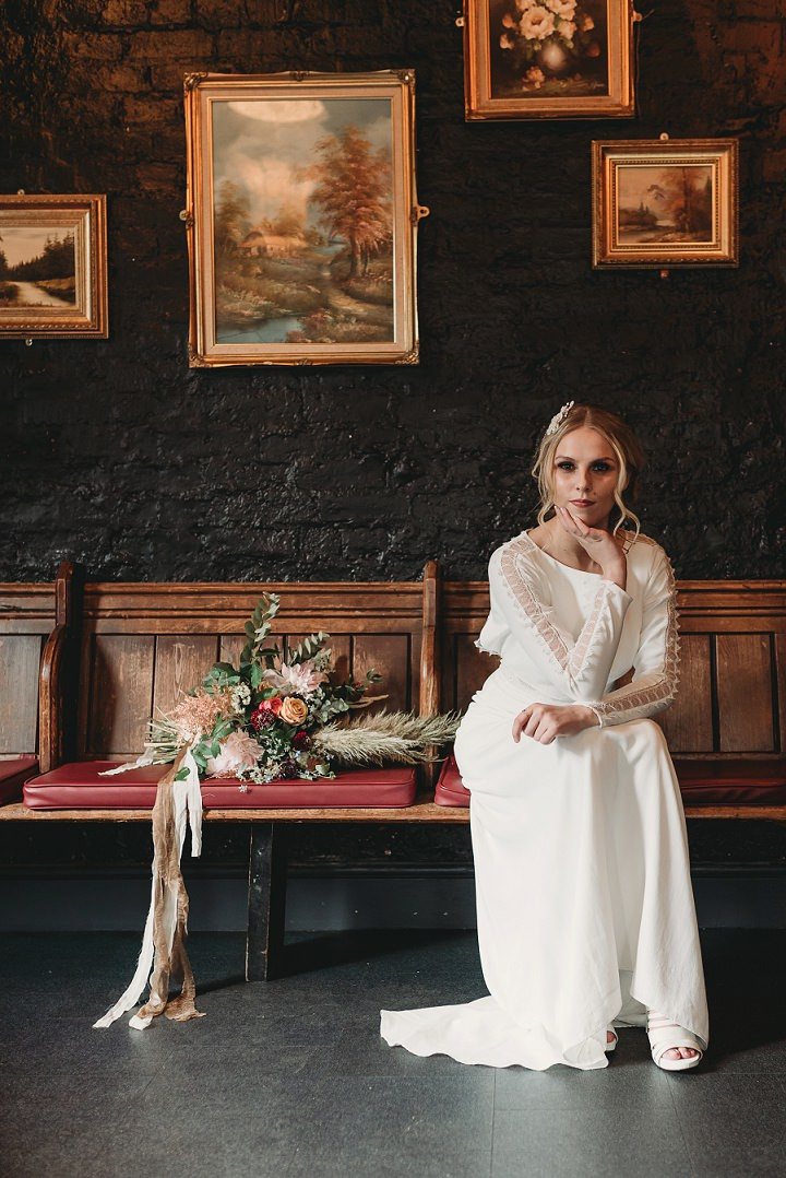 Boho meets Industrial Styled Shoot