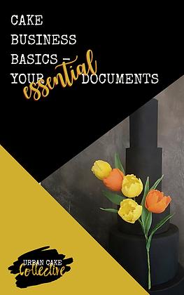 Cake Baking Basics - The Esssential Documents