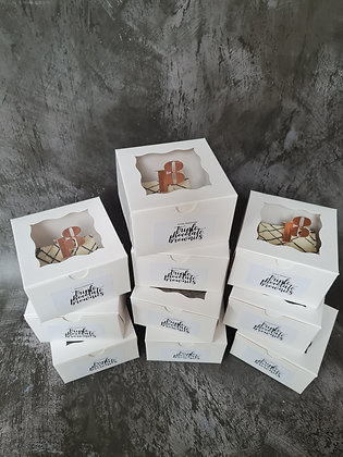 Individual brownie boxes